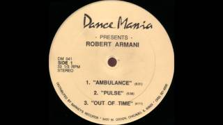 Robert Armani - Ambulance (1991)