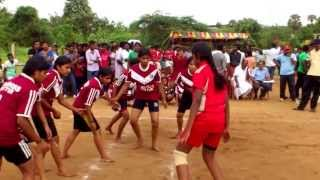 gvghss chittur kabaddi girls team vs wings of fire girls team