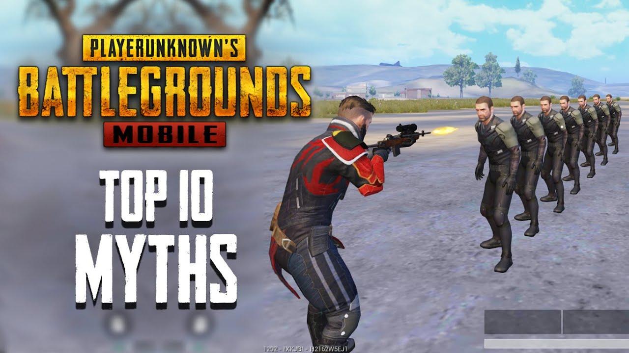 Top 10 Mythbusters dans PUBG Mobile | Les mythes PUBG # 4 + vidéo