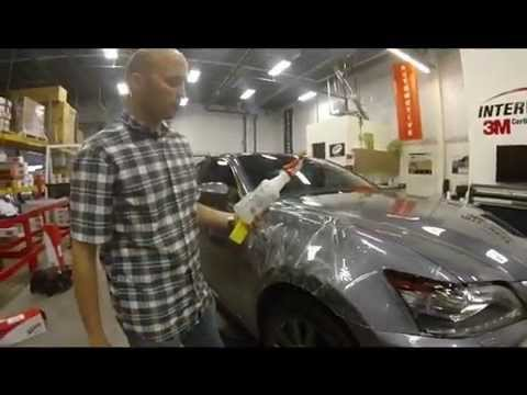 3M Scotchgard Paint Protection Film Pro Series Installation Demo - YouTube