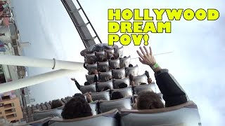Hollywood Dream Roller Coaster Back Seat POV Universal Studios Japan ハリウッド・ドリーム・ザ・ライド
