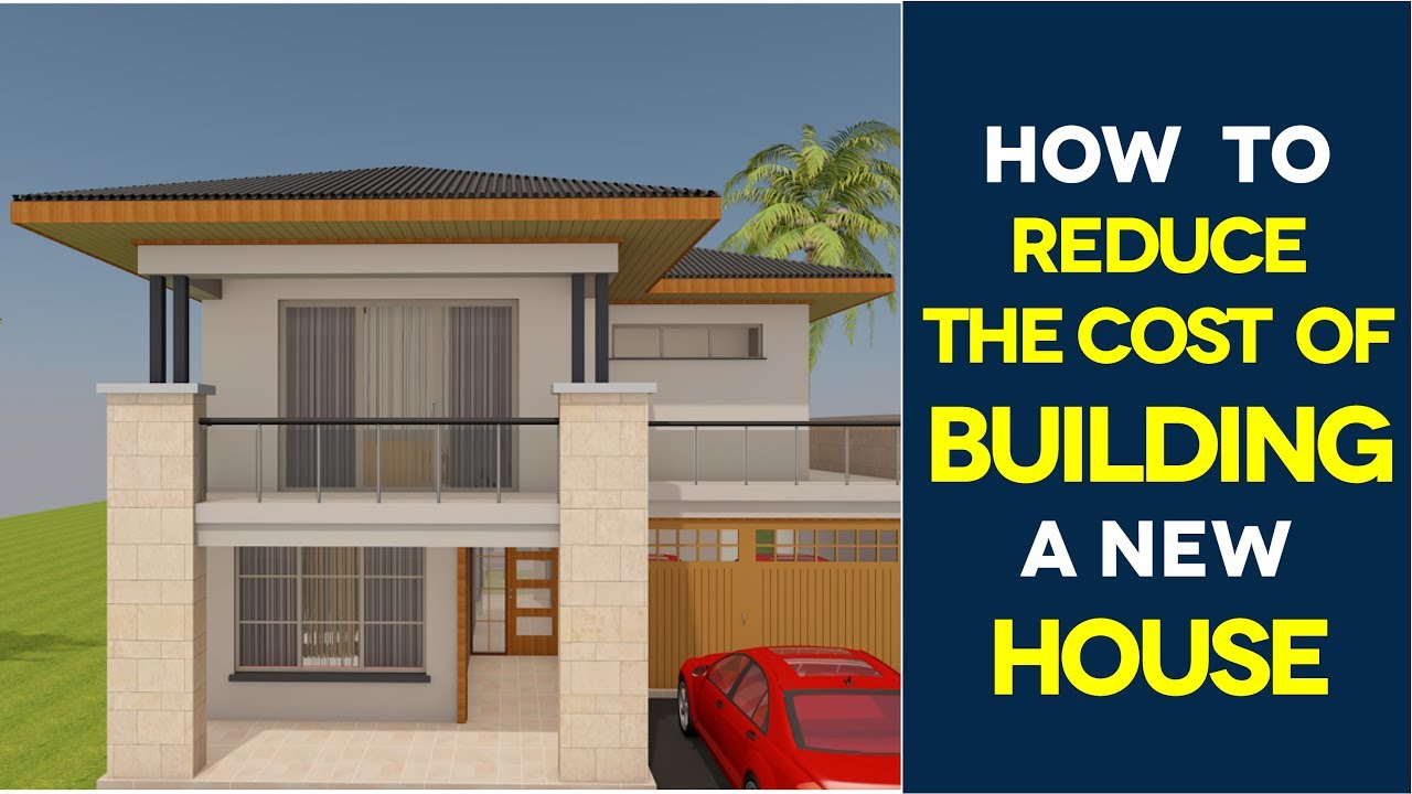 10 most affordable ways to save money when building a new for Cost build house