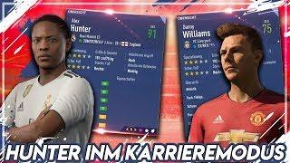 FIFA 19: ALEX HUNTER & WILLIAMS IM KARRIEREMODUS !! 🔥 | Karriere Potenzial