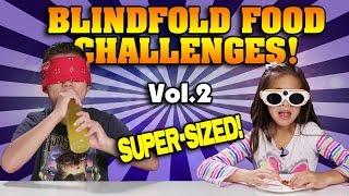 FOOD CHALLENGE TASTE TEST Vol. 2!!! French Fries, Soda, Pop Tarts, Chips Ahoy! [SUPER SIZE ME WEEK]
