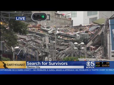 Mexico Quake Death Toll At 230, Search For Survivors Continues