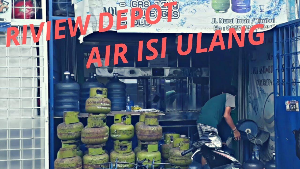 Usaha depot air isi ulang - YouTube