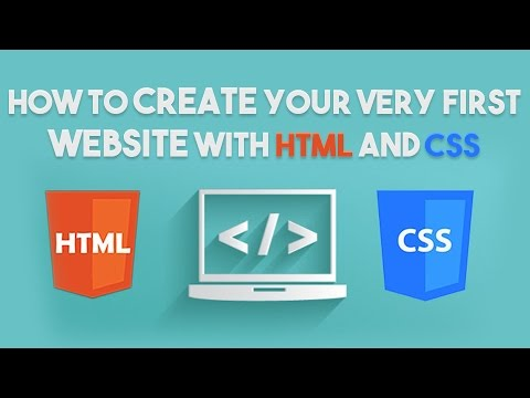 How To Create Your Very First Website With HTML And CSS
