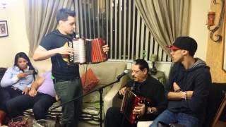 Geno accordion y Nicolas Gutierrez acordeon