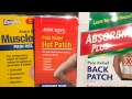 Dollar Tree Pain Relief Patch Review & TJ Maxx Gourmet Food Haul
