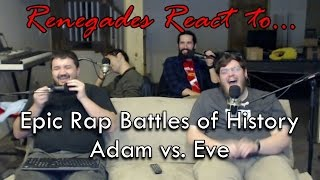 Renegades React to... Epic Rap Battles of History: Adam vs. Eve