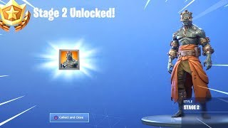 How To UNLOCK The Prisoner Skin STAGES in Fortnite..