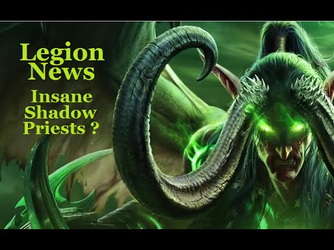 World of Warcraft : Legion News - Class Overhauls, Professions And More