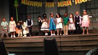 trinity christian pre school award ceremony