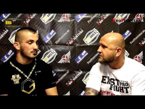 EMIN SEFA - rozhovor po EAST PRO FIGHT 3