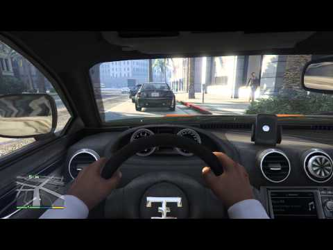 gta 5 xbox one first person gameplay car review rare and. Black Bedroom Furniture Sets. Home Design Ideas