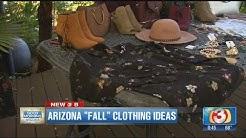 Arizona's version of fall clothing