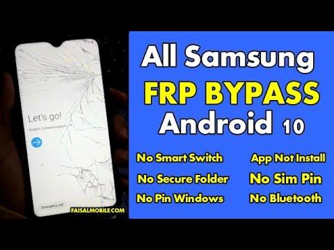FRP Bypass Samsung A10,A10S,A20,A30,A50,A70,App Not Install,No Sim,No Smart switch