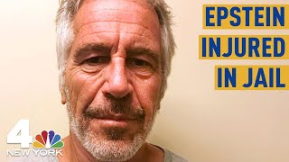 Jeffrey Epstein Found Injured in Manhattan in Jail Cell, Sources Say | NBC New York