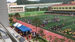 2018 고흥고 체육대회 이어 달리기 여자부 결승