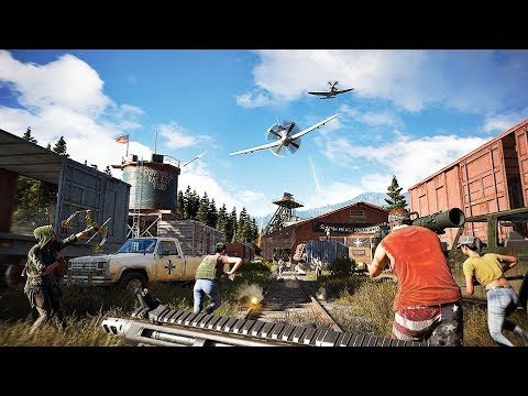 Far Cry 5 - New Characters Gameplay Trailer (2018) PS4/XboxOne/PC