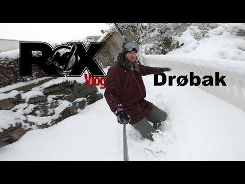 Rox Vlog 7 | Drøbak | Snowboarding in the streets