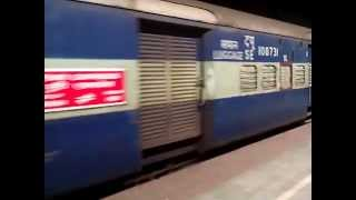 Full journey in 12837 Puri Express : Howrah-Puri Superfast Express..!!