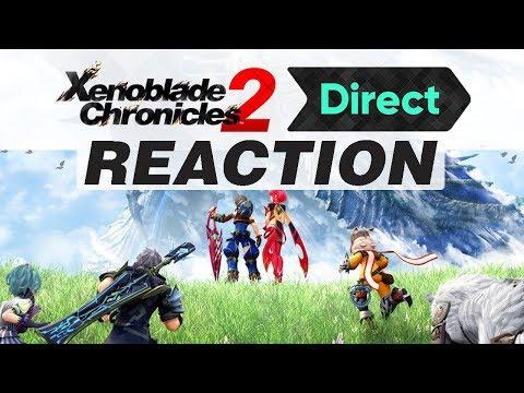 Schauen und Staunen! | Xenoblade Chronicles 2 Direct | Live Reaction
