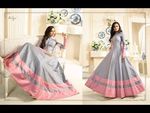 Buy Online Dress - Modern New Arrivals Fashionable Women Long Anarkali dress