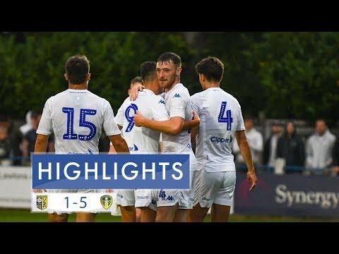 Pre-season highlights: Tadcaster Albion 1-5 Leeds United