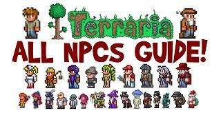 How to get all NPCs in Terraria! (NPC Guide, Full List & Move-In Requirements, All Platforms)