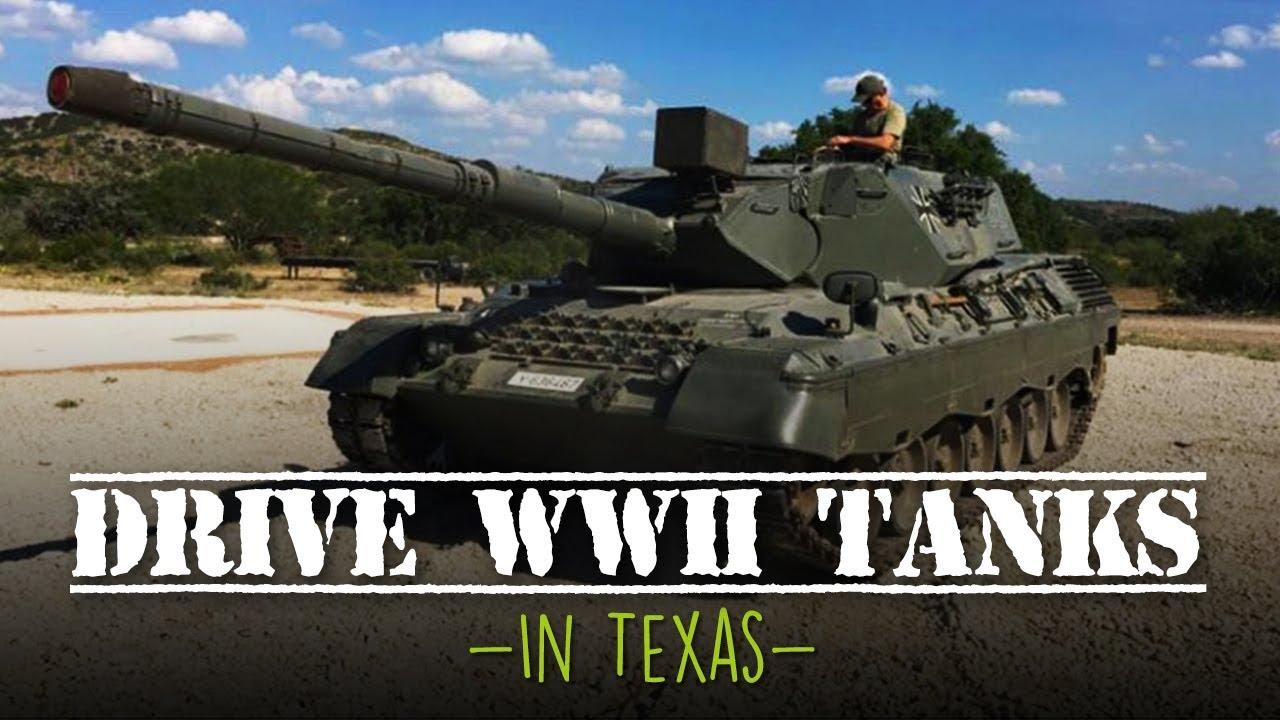 Drive A Tank >> Drivetanks In Texas Lets Visitors Drive A World War Ii Tank