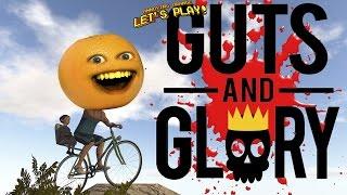 Annoying Orange Plays - Guts and Glory #1: 3D Happy Wheels?!
