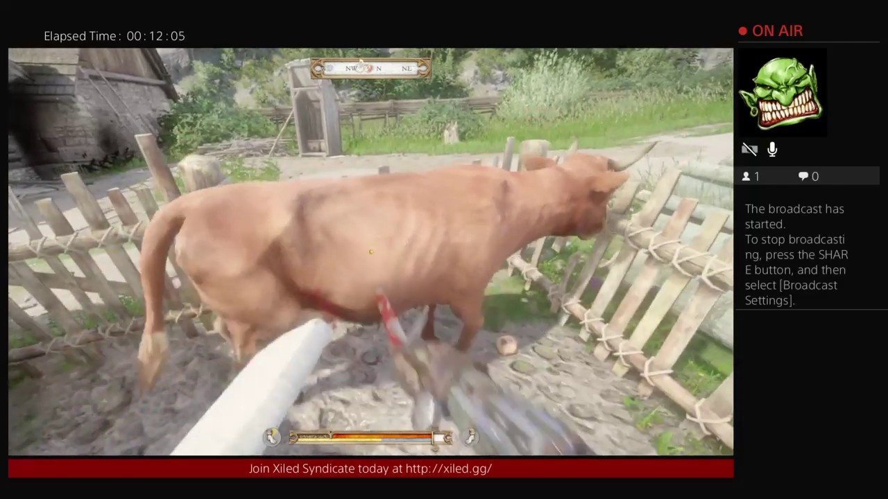 Ye Ole Beef Patty! F*ck Thou Cow! (Kingdom Come: Deliverance)