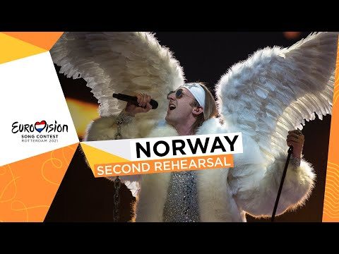 TIX - Fallen Angel - Second Rehearsal - Norway ?? - Eurovision 2021