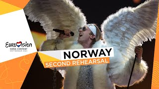 TIX - Fallen Angel - Second Rehearsal - Norway 🇳🇴 - Eurovision 2021