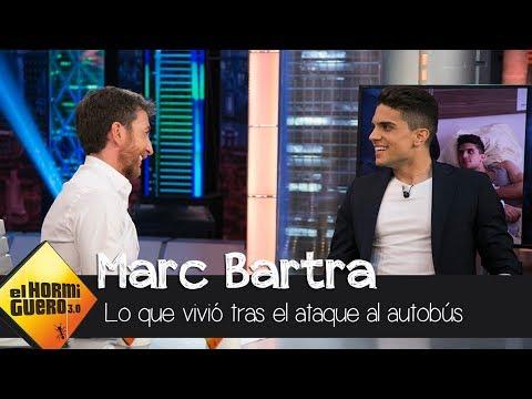 """Marc Bartra: """"Cuando vi a Meli después del accidente fue como mi primer beso"""" - El Hormiguero 3.0"""