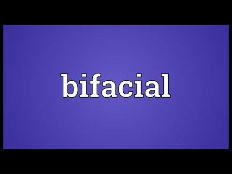 Header of bifacial