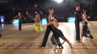 VARADINUM DANCE FESTIVAL 2010 - YOUTH IDSF INTERNATIONAL OPEN LATIN - SEMIFINAL - PART 2