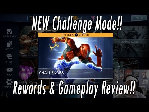 NEW Challenge Mode Review! Hero Shards, Gear, Rewards & Gameplay-Injustice 2 Mobile Speedforce Flash