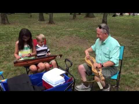Summertown Bluegrass Reunion: 1st Dulcimer Lesson
