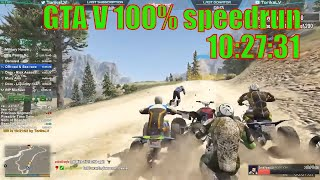 [WR] GTA V 100% 10:27:31 speedrun