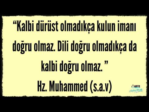 """Peygamber Efendimiz """"""""Hz. Muhammed"""""""" (S.A.V ) Muhteşem Sözleri...(Altın Öğütler)"""