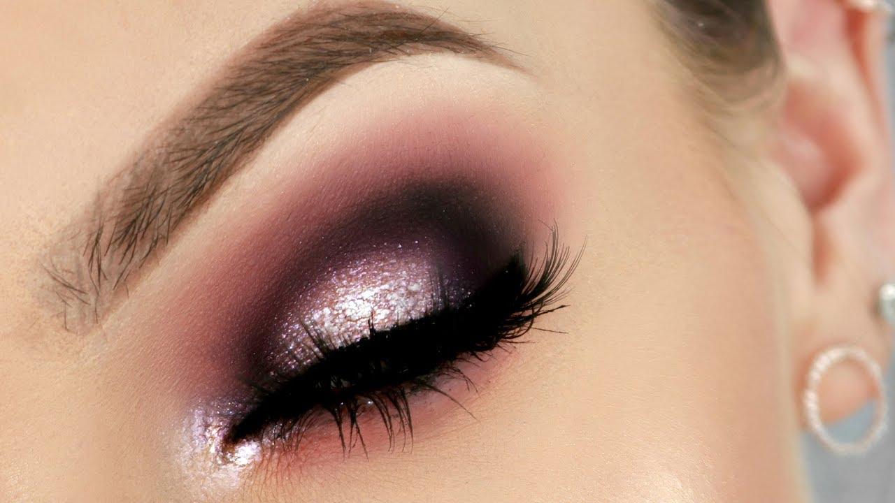 Hooded Eyes Makeup Colour Glitter Stephanie Lange Youtube