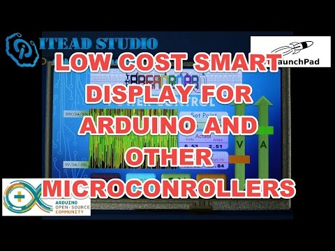 High Quality low cost Colour LCD for Arduino and other SBC's