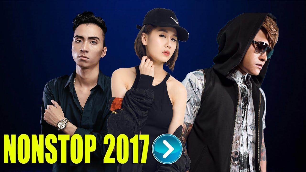 Nonstop Nhạc Sàn Cực Mạnh 2017 - Nhạc DJ Mới Nhất || Vũ Duy Khánh ft DJ Hiếu Phan & DJ Tiên Moon