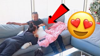 """PRINGLES"" PRANK ON GIRLFRIEND!! *FUNNY REACTION*"