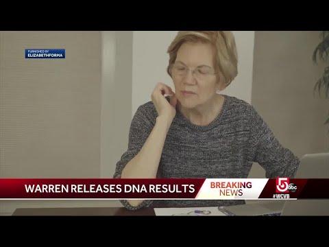 Sen. Warren relesaes DNA results