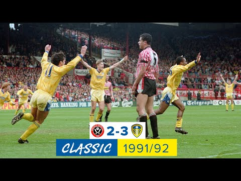 Sheffield United 2-3 Leeds United   Classic match   1991/92 Champions