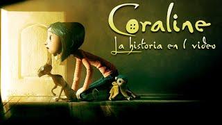 Coraline y la Puerta Secreta : La Historia en 1 Video