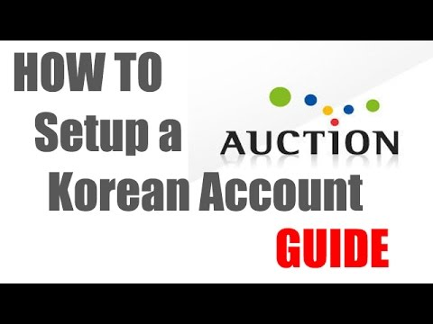 How to use Auction in South Korea using the Korean Registration System